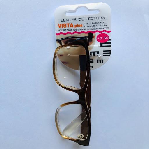 lentes de lectura marron +3.50