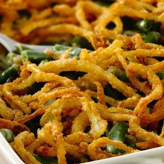 Gluten-Free Green Bean Casserole with Fried Onions