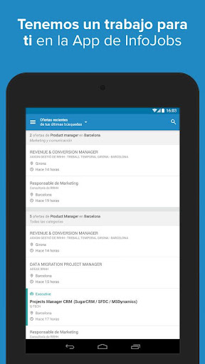 InfoJobs - Job Search  screenshots 17