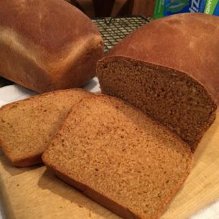 Molasses Wheat Bread.