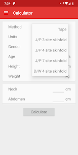 Body Fat Calculator 1