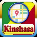 Kinshasa City Maps And Direction icon