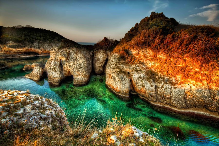 The Agva Coast by Oytun Ozudogru - Landscapes Waterscapes