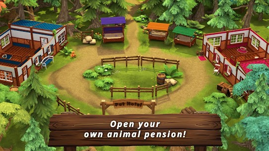 Pet Hotel Premium – Hotel for cute animals Apk Download For Android and Iphone 1