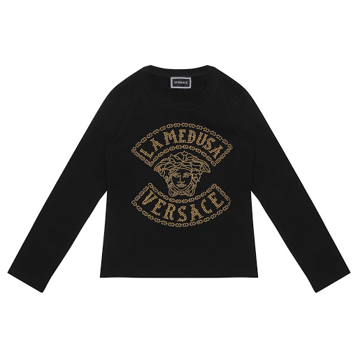 Primary image of Young Versace Gold Stud Top