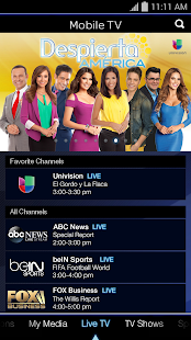 Mobile TV- screenshot thumbnail