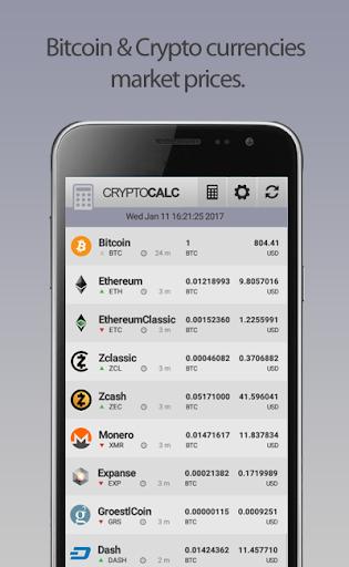 Crypto Currency & Bitcoin Calculator  screenshots 5