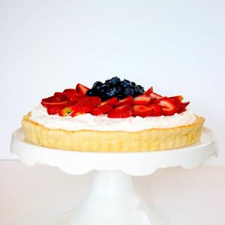 Strawberry and Blueberry Shortcake Tart