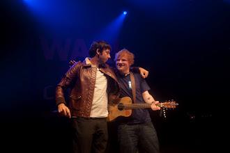 Photo: Ed Sheeran & Example