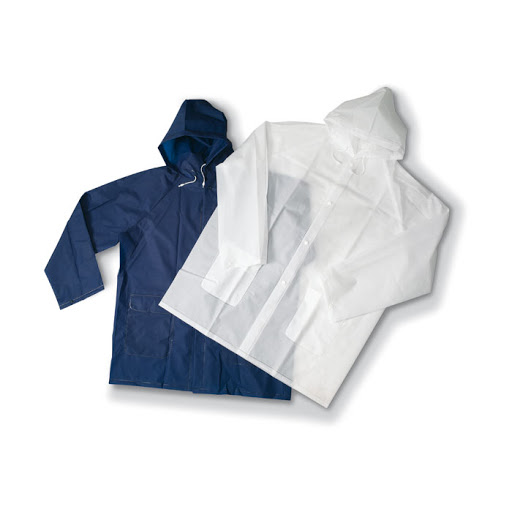 Pocket re-usable PVC Raincoat in a Pouch