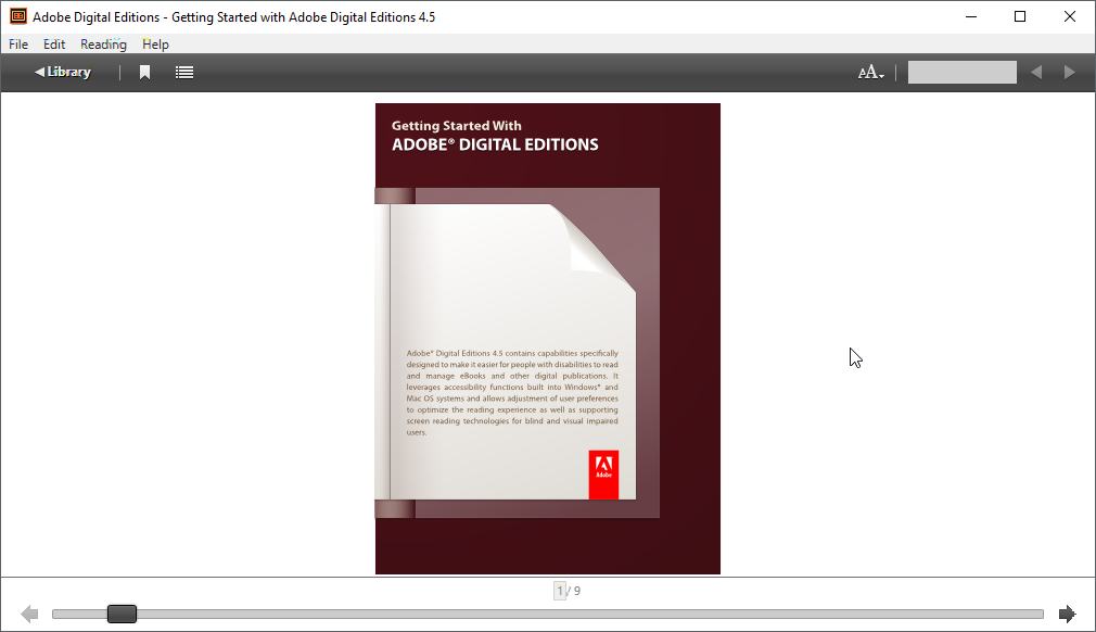 thumbapps.org Adobe Digital Editions portable, ebook cover