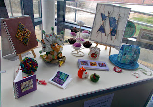 Photo: Work on display at Ashbourne Library