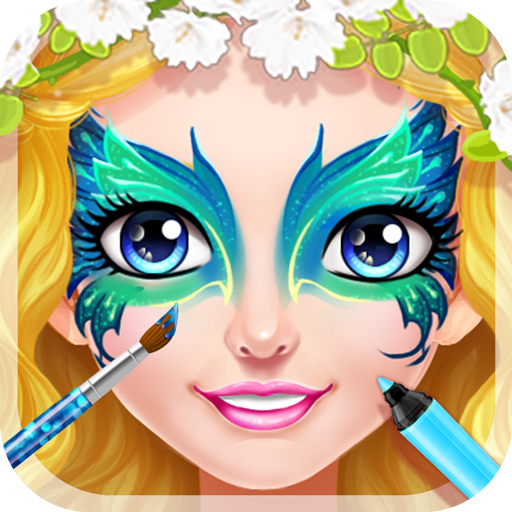 Face Paint Princess Salon 休閒 App LOGO-APP開箱王