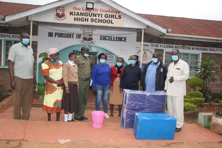 Maragua cops raise funds, help needy girl join Form 1