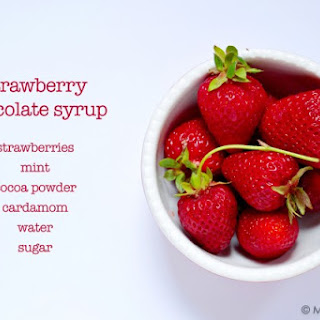 Strawberry Chocolate SimpleSyrup Recipe
