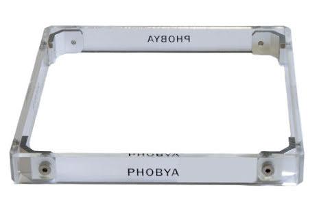 Phobya shroud 180x20, Plexi