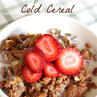 Healthy Homemade Cold Cereal