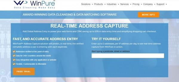WinPure's Website