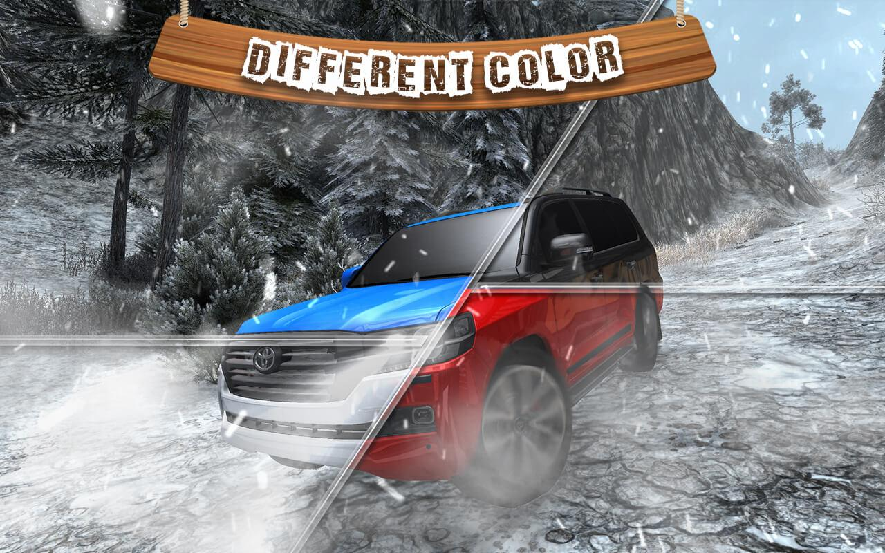 Offroad Cruiser Snow Driving- screenshot