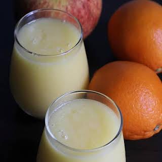Apple Orange Smoothie.