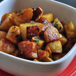 Twice Baked Oven Home Fries.