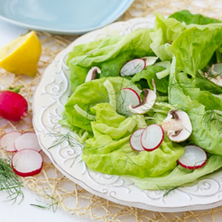 Butter Lettuce Salad with Fennel and Radishes {Gluten-Free, Dairy-Free}