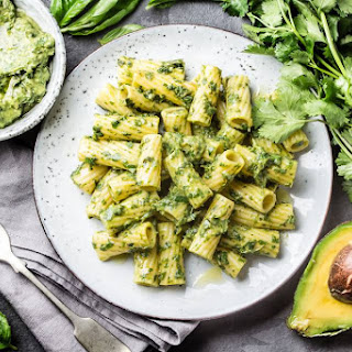 Avocado and Pesto Pasta Recipe