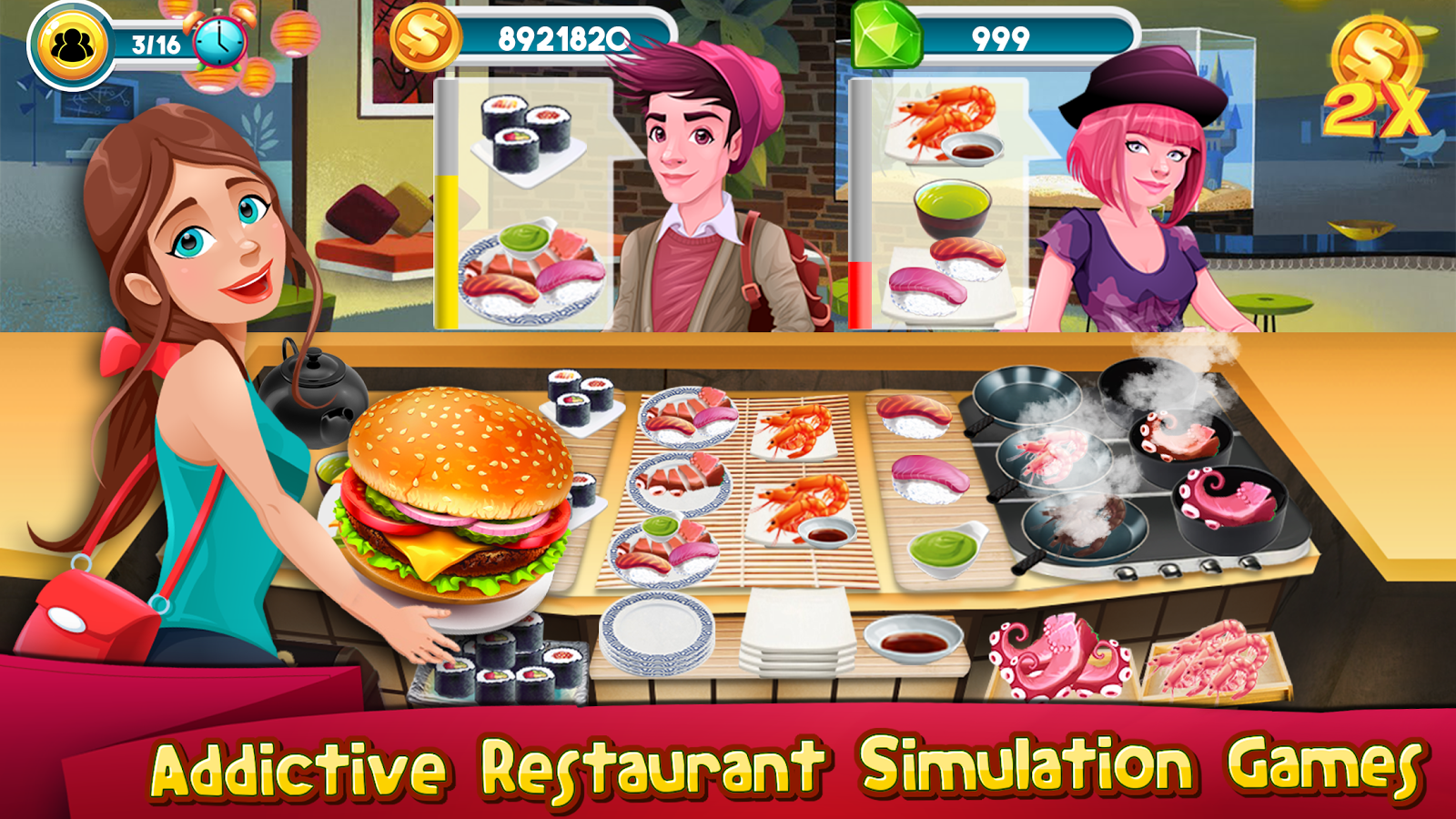 Cooking Games Kitchen Rising : Cooking Chef Master- screenshot