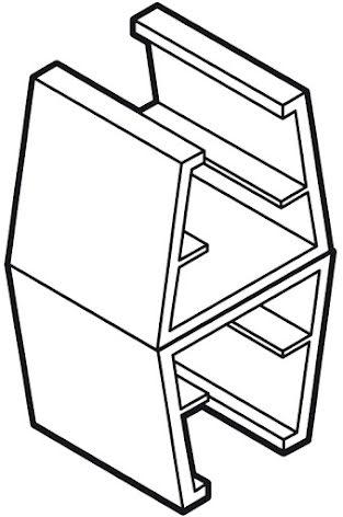 Sammanfogningsclips för ramar A6-A3