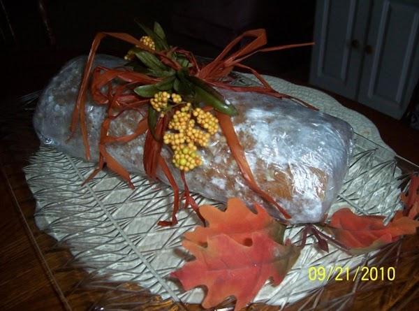 Pumpkin Nut Roll Recipe