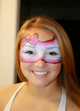 Photo: Hello kitty face paint mask by Tess. Call to Book Tess at 888-750-7024