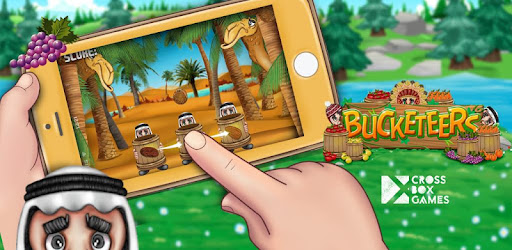 Have fun catching all fruits in a bucket with kids from around the world.
