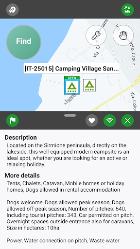 Camping.Info by POIbase Campsites & Pitches screenshot 4