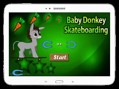 Baby Donkey Skateboarding screenshot 10