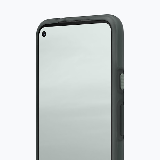 Interior shot of the Pixel 5a (5G) Case, in which you can see the dual-layer design.