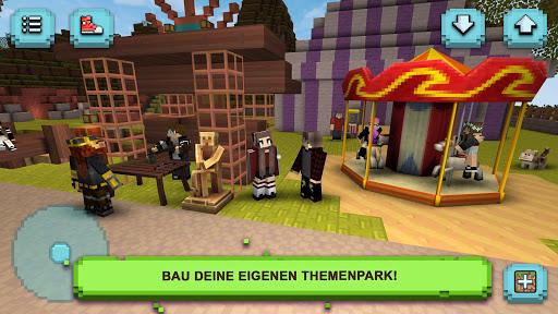 Theme Park Craft: Crafting und Bauen Spiel APK MOD screenshots 1