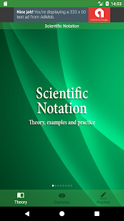 Scientific Notation - náhled