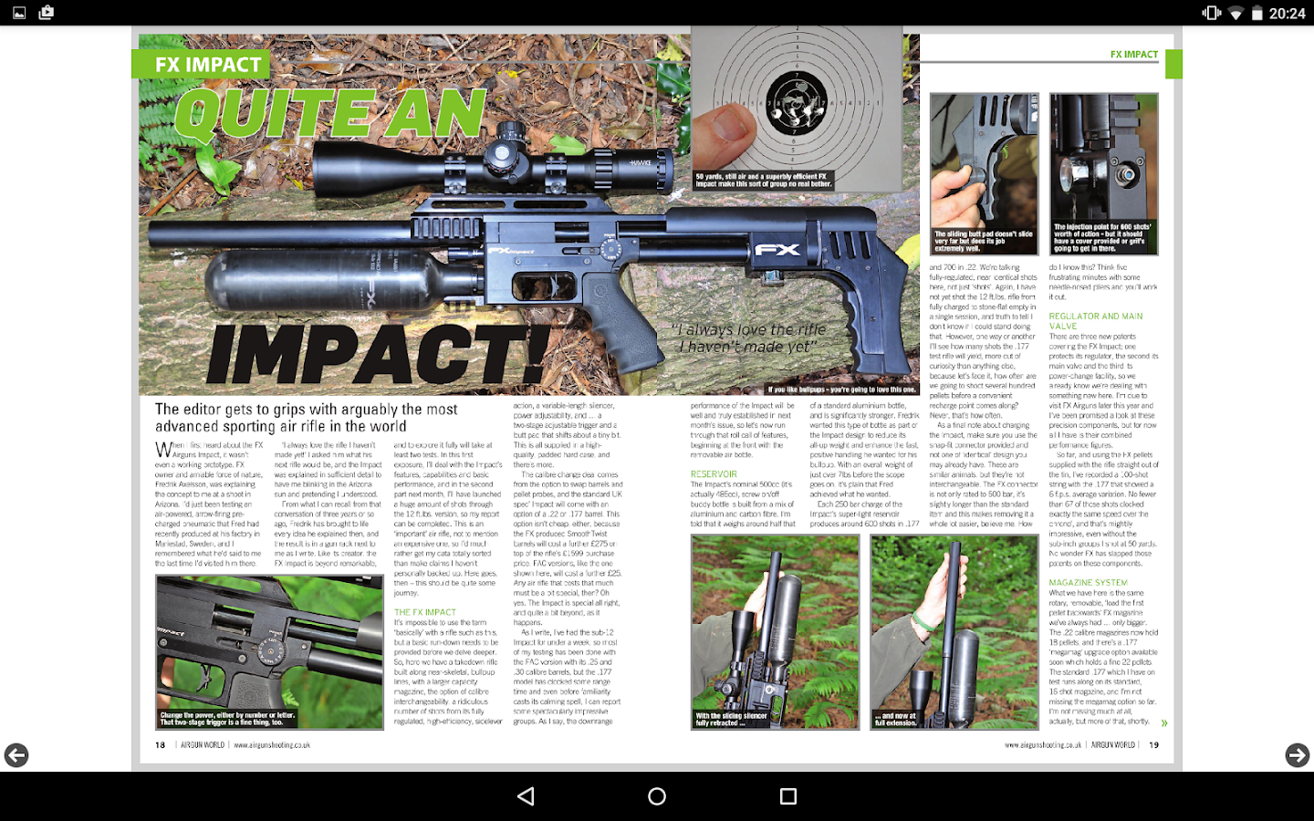 Airgun World Magazine- screenshot