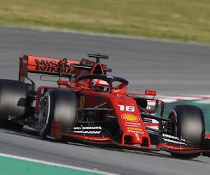 Charles Leclerc ne manque pas ses débuts avec Ferrari