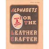 ALPHABETS FOR THE LEATHERCRAFT