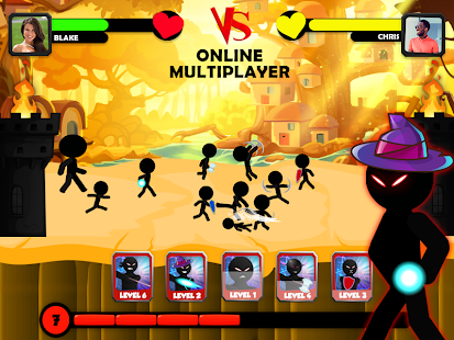 Stickman Battle - Multiplayer (PVP) Strategy Game