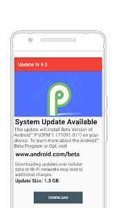 Download Update to android P - 9 0 APK latest version for