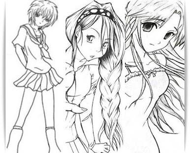learn to draw anime girl screenshot thumbnail