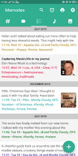 Memorize – Diary, Journal, Mood Tracker MOD (Premium) 1