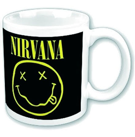 Nirvana - Smiley - Mugg