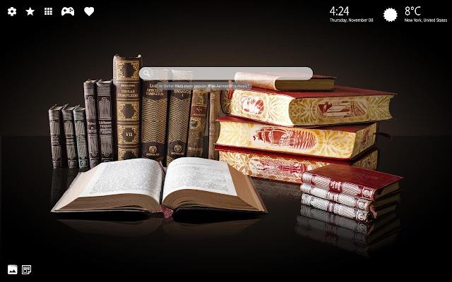Books Wallpaper Books Background Theme Hd