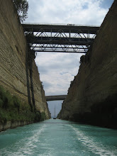Photo: Korent Kanalı.  Corinth Canal.