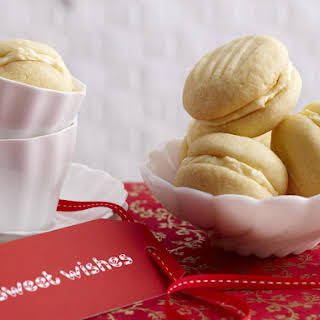 Limoncello Melting Moments Cookies.