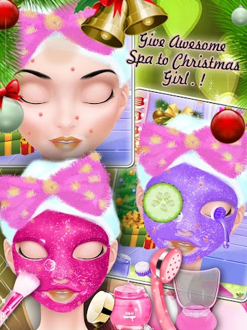 android Christmas Prom Night Salon Screenshot 2