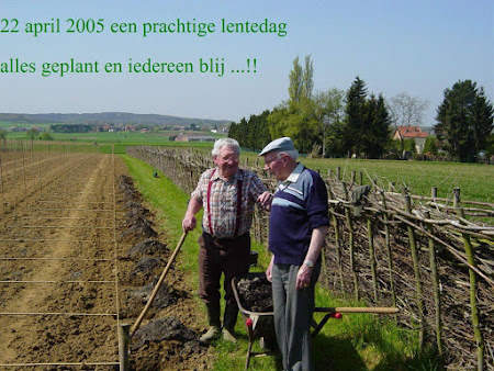 Overgrootvaders Edmond Goemans en François Vandenberghen